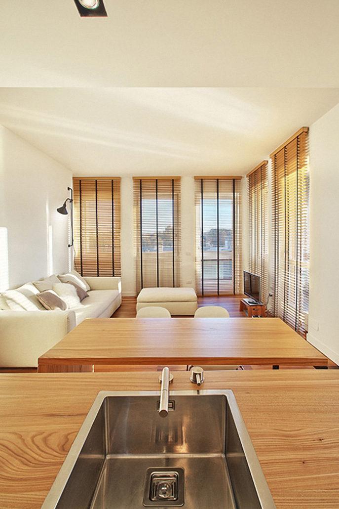Interior design di appartamento con vista claudia montevecchi studio architettura interior - Interior designer milano ...