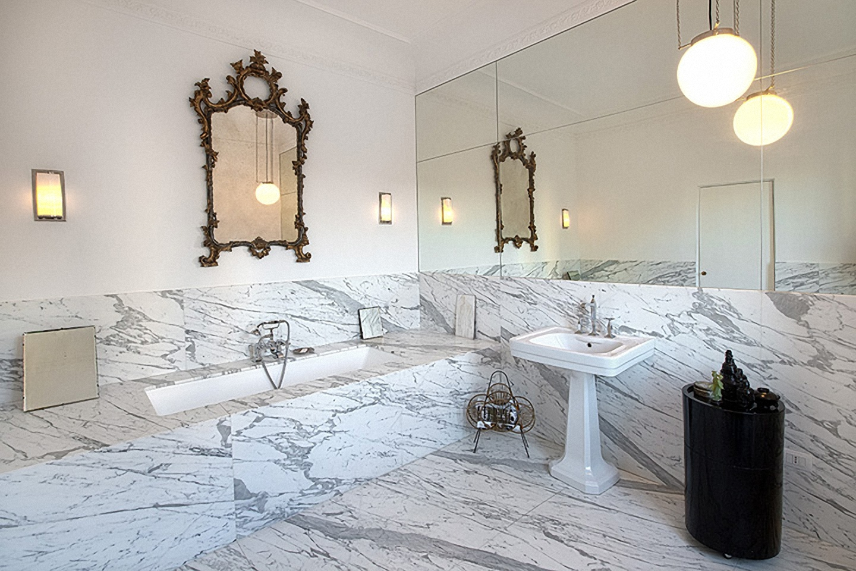 Claudia montevecchi studio architettura interior design - Bagno di marmo ...