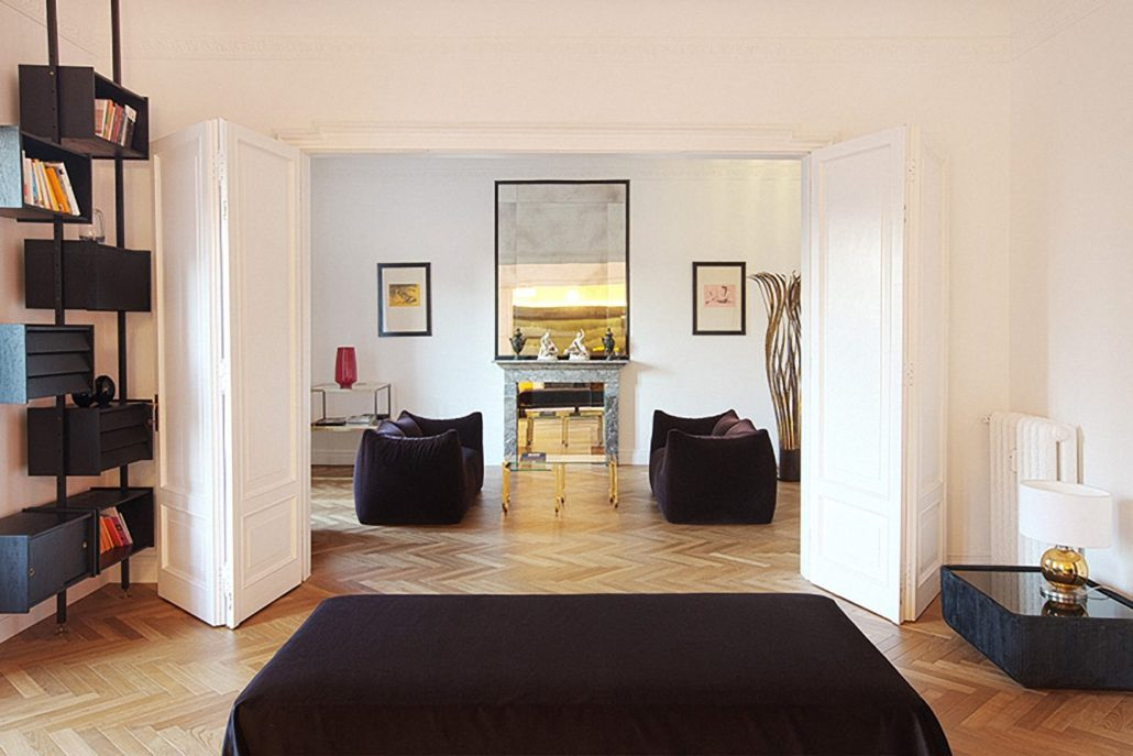 Renovation of vintage style residence with interior - Interior designer milano ...