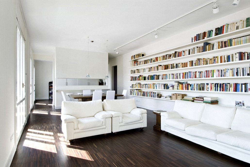 view of the park Claudia Montevecchi Studio architettura interior