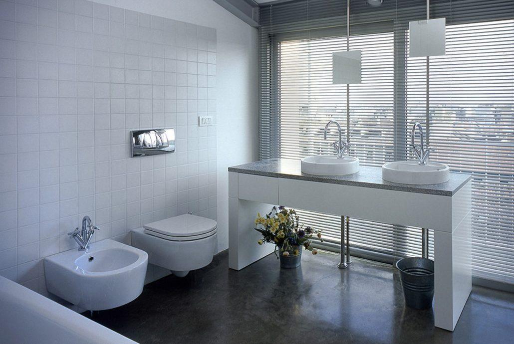 Bagno Con Vista Mare Architettura Design : Attico a milano claudia montevecchi studio architettura